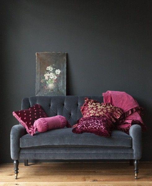 Another grey mohair velvet, luscious upholstery