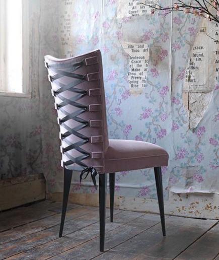 Lilac Velvet Upholstery