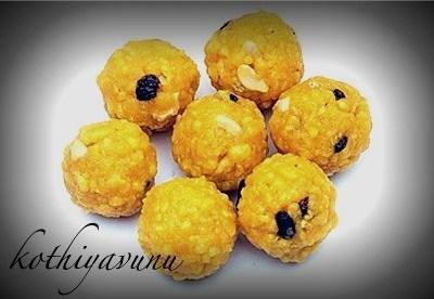 Boondi Laddu -Ladoo Recipe | Bundi Laddu Recipe – Diwali Sweets