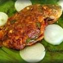 Meen Pollichathu Recipe | Fish in Banana Leaf Wrap