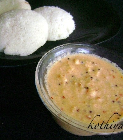 Coconut Small Onion Chutney /Ulli Thenga Chutney