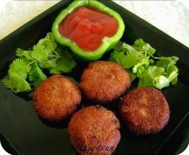 Meat Cutlet (Chicken/Mutton/Beef) Recipe