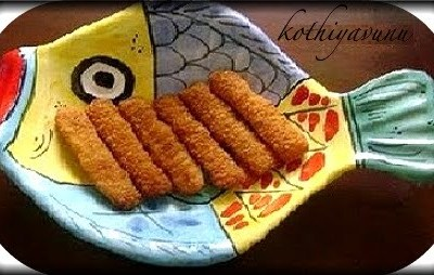 Fried Fish Fingers