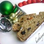 Christmas Stollen -German Christmas Fruit Cake|kothiyavunu.com