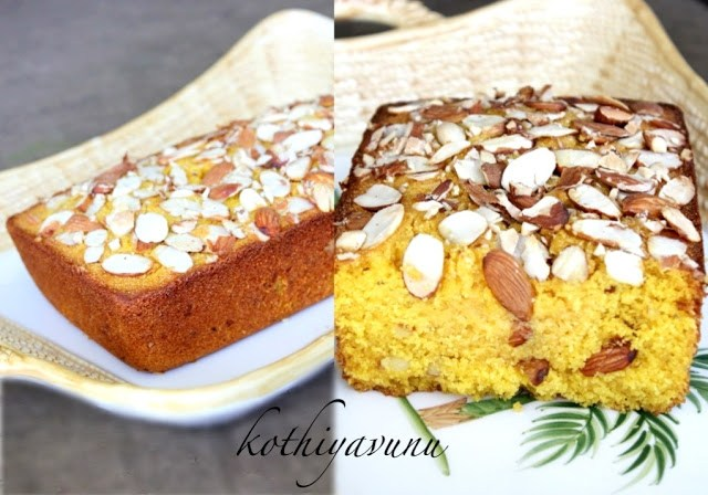 Rava Cake Recipe In Marathi Oven: Mango Almond Rava Cake Recipe