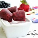 Berry Popsicles Recipe | Strawberry – Blueberry Popsicles Recipe |Berry Pops