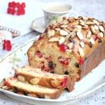 Cherry Eggnog Bread -Christmas special |kothiyavunu.com