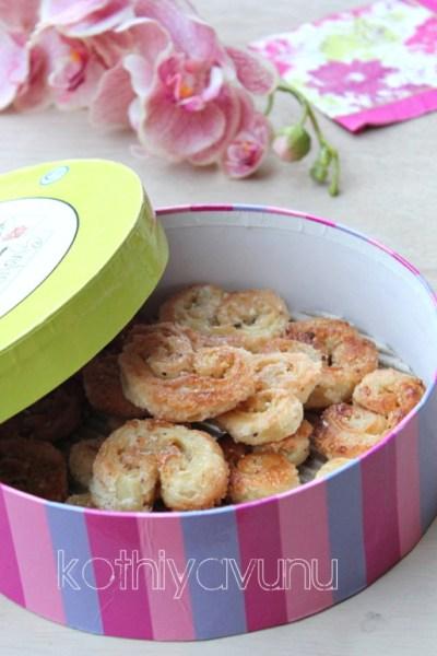 Palmier Recipe – Elephant Ears Recipe – Little Hearts Biscuits Recipe