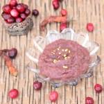 Cranberry Chutney|kothiyavunu.com