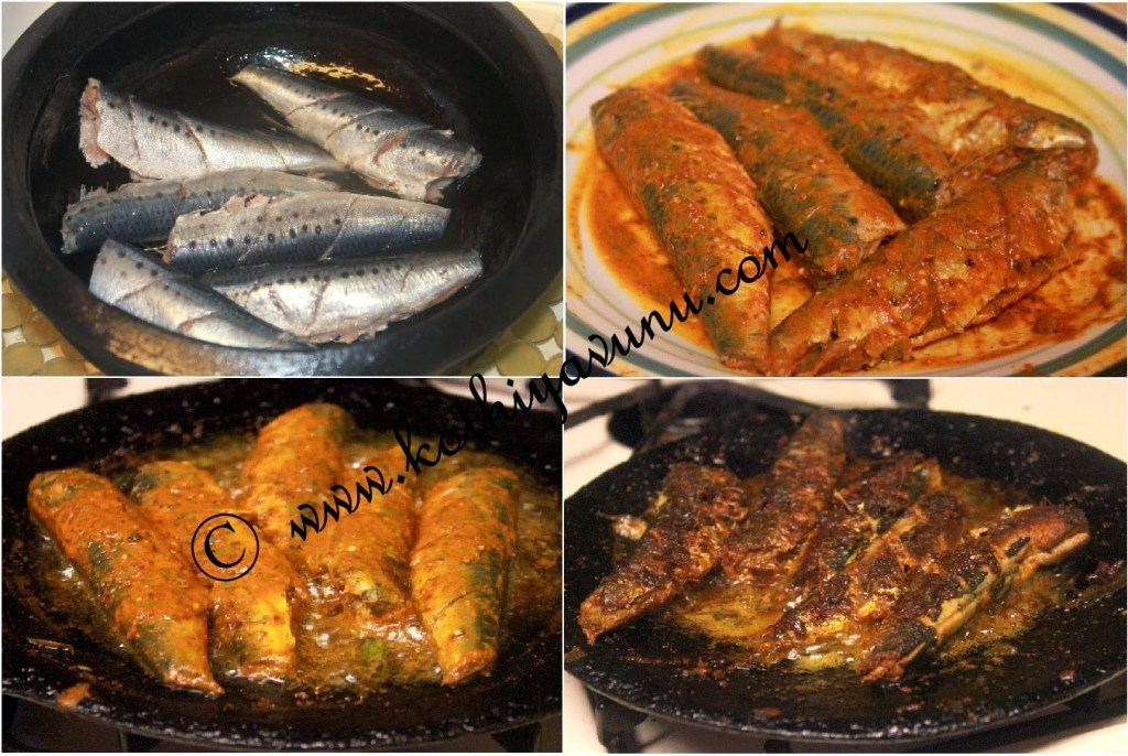 Mathi-Chaala Varuthathu -Mathi Fry-Sardines fry |kothiyavunu.com