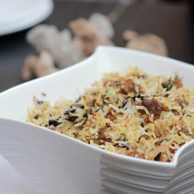 Kheema-Keema Biryani Recipe|Ground Goat Biryani