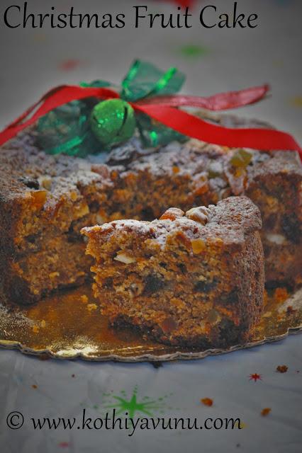 Christmas Plum Cake Recipe In Pressure Cooker