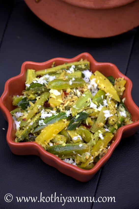 Vishu Thoran-Kani Thoran-Mixed Vegetable Stir Fry |kothiyavunu.com