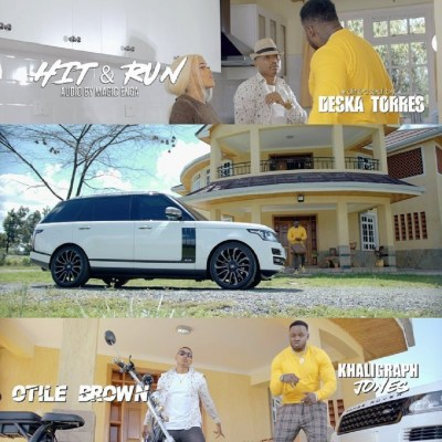 Otile Brown - Hit & Run Ft Khaligraph Jones Lyrics