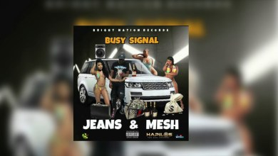 Photo of Busy Signal – Jeans & Mesh
