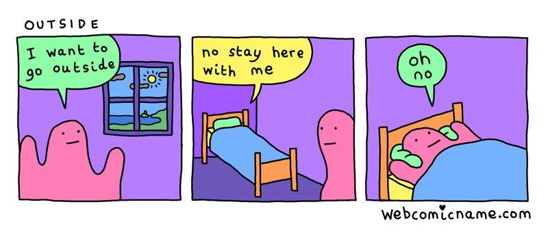 relatable webcomic cliché