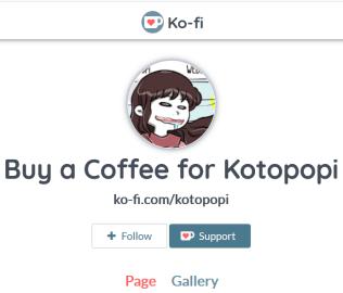 buy a kofi to kotopopi