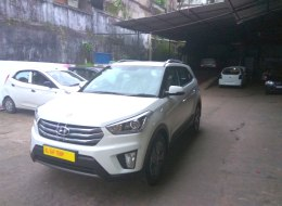 Hyundai Creta Automatic Rental in Kerala