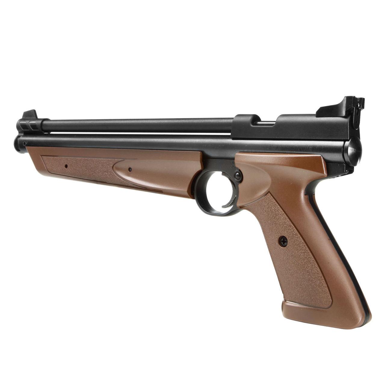 Crosman 1377 American Classic 4.5 mm Diabolo Pump-Luftpistole braun - Kotte & Zeller