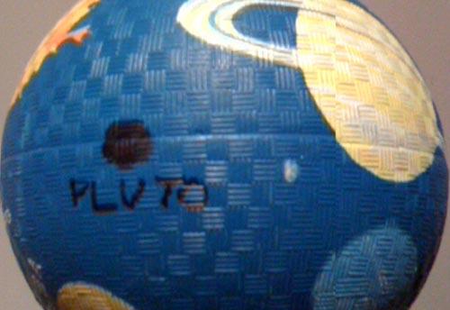 Pluto, back where it belongs