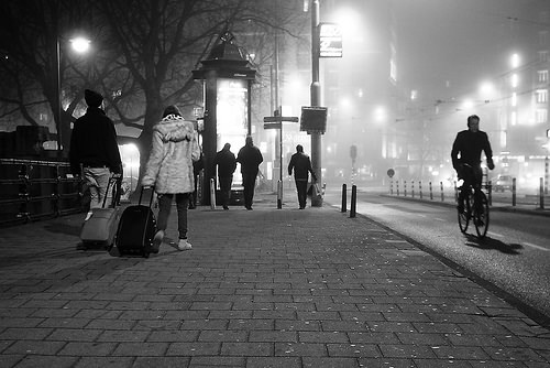 street photo night people photo