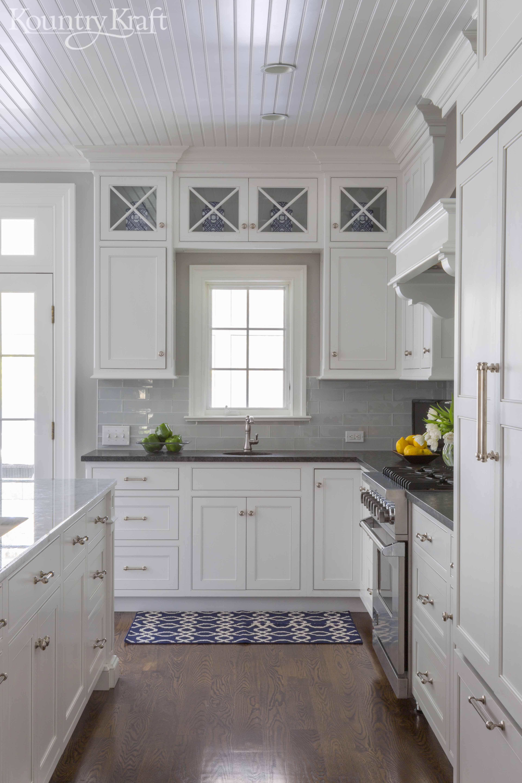 Custom Painted Chantilly Lace Cabinets in Villanova PA