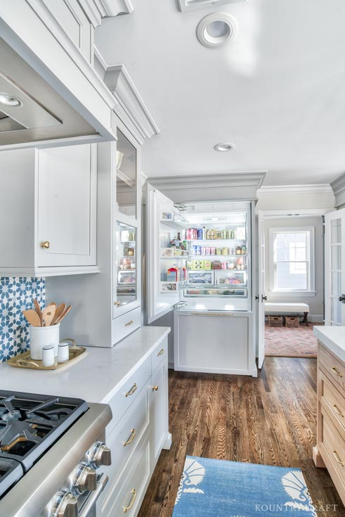 Coventry Gray Kitchen Cabinets in Chatham New Jersey