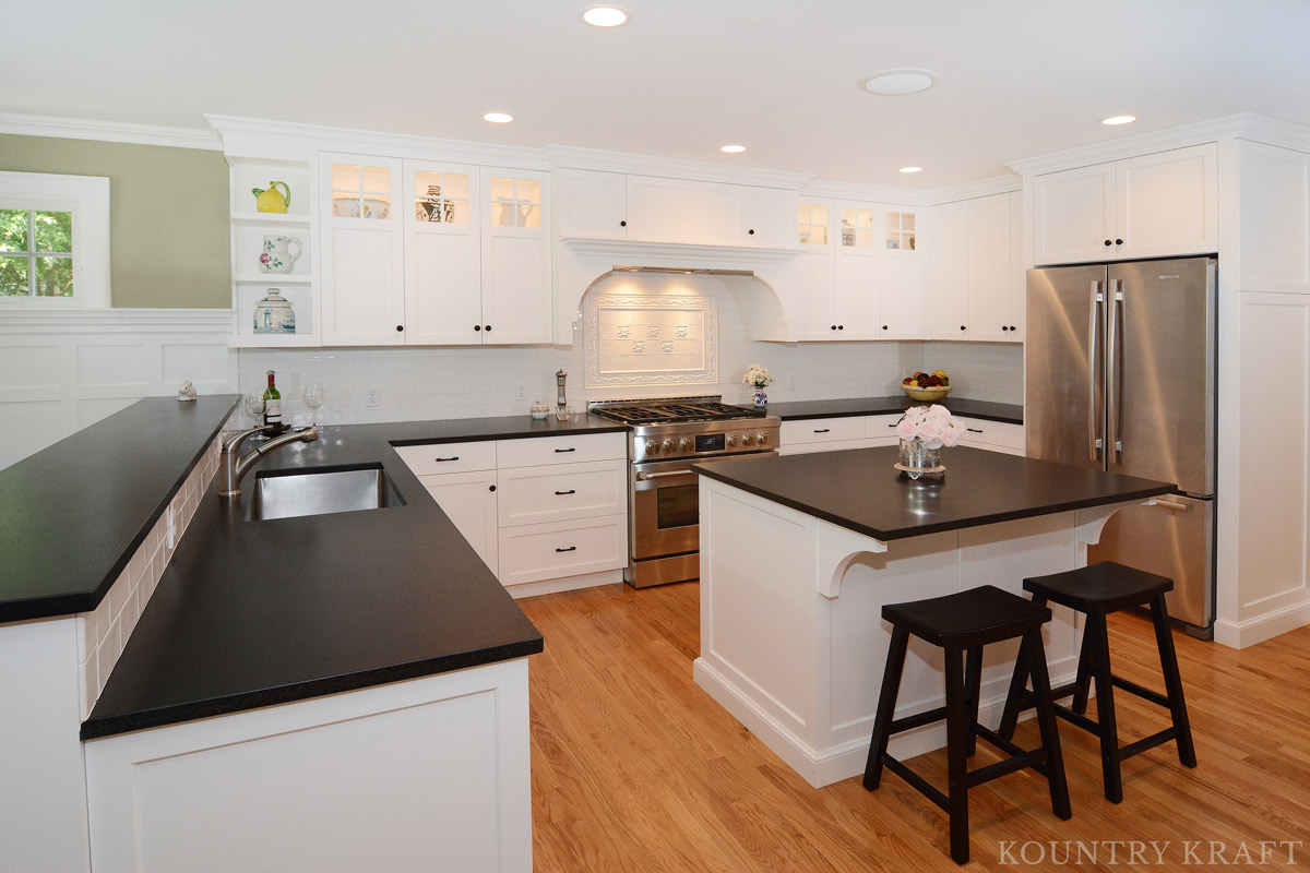 american made kitchen cabinets microwave cabinet custom white cabinetry in short hills, new jersey