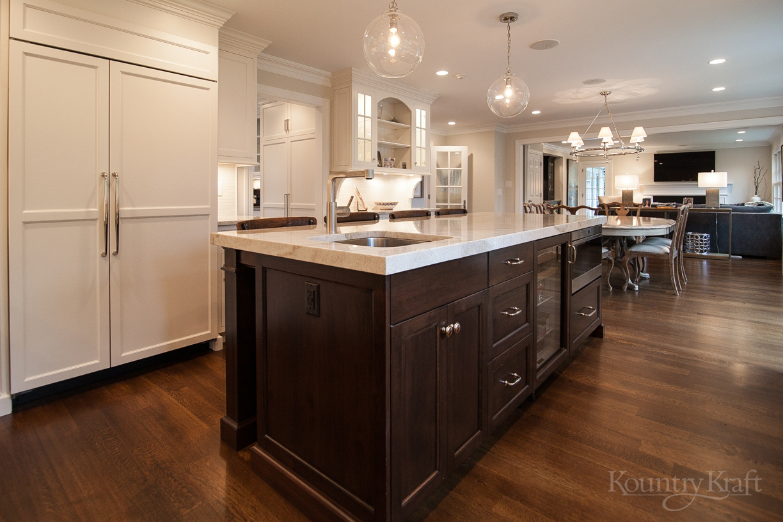 Custom Kitchen Island Cabinets in Madison New Jersey