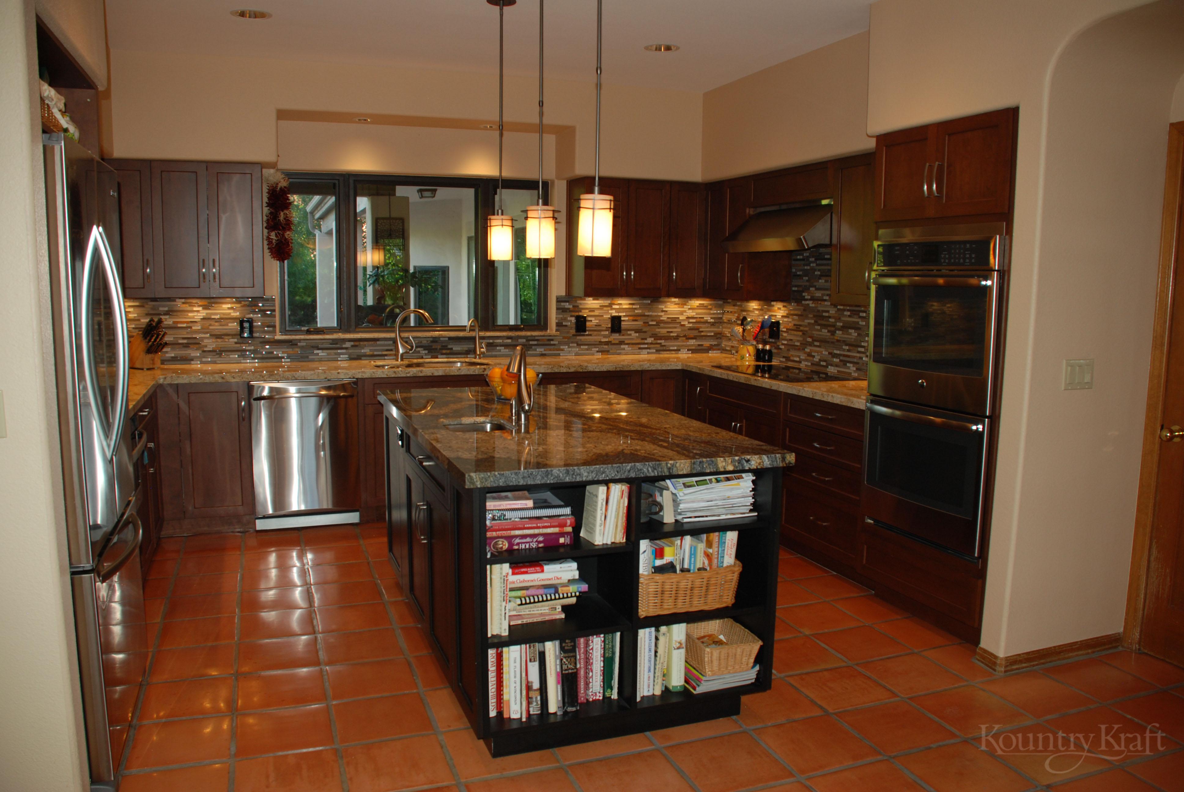 kitchen cabinets alexandria va americana decor custom stained in