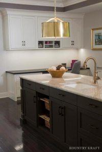 Muddled Basil Kitchen Island Cabinets in Alrington, Virginia