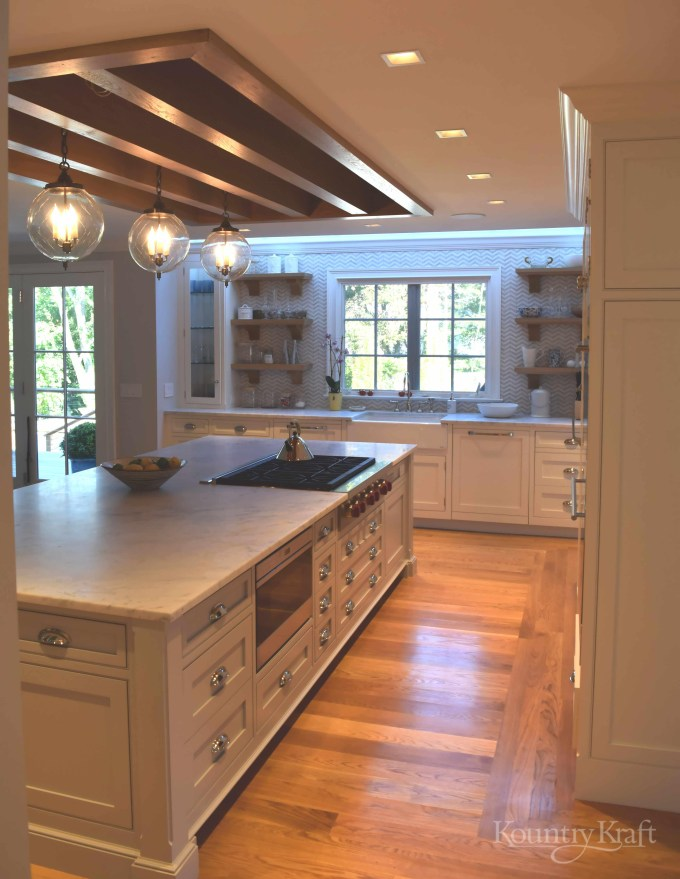 Custom Painted Kitchen Cabinets In Connecticut