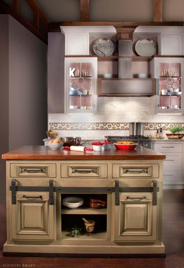 Custom Hard Maple Cabinets Located In Orlando Florida
