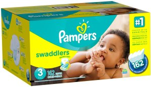 pampers case 162ct