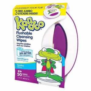 kandoo wipes 50ct