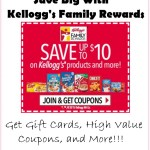 NEW Bonus Code!!! Kellogg's Family Rewards: Score FREE Cereal, Eggos, Gift Cards, and More!!!!!!!