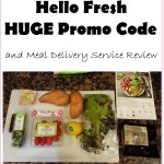 Hello Fresh Meal Delivery Service Review, WITH HUGE DISCOUNT CODE!!!