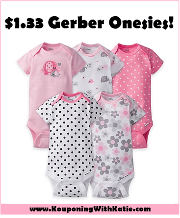 82aeec6c4 Don't Miss This RARE Gerber Onesies Deal, Just $1.33 At Target ...