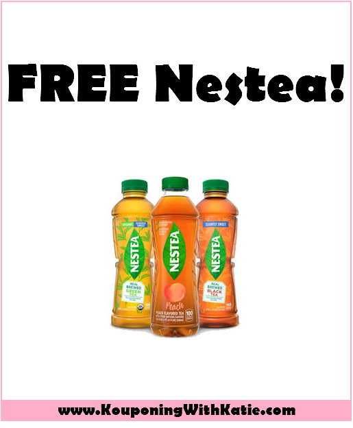 Coupon For FREE Nestea, While Supplies Last!!! - Kouponing With Katie