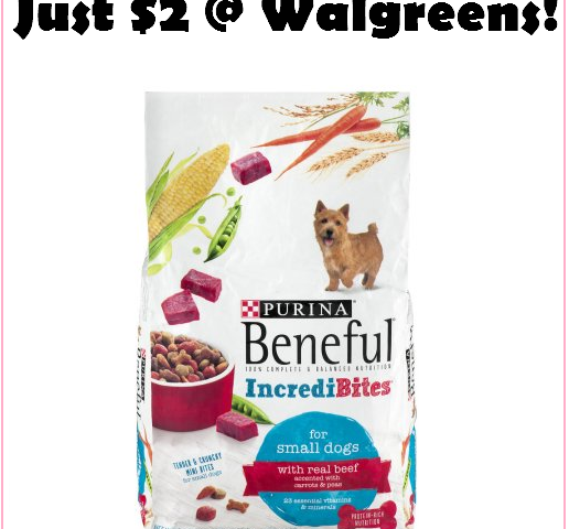 STOCK UP On Beneful Dog Food At Walgreens For Just $2 Per Bag!!!