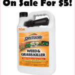 Giant Gallon Size Bottle Of Spectracide, Just $5!!! AWESOME Weed Killer!!!