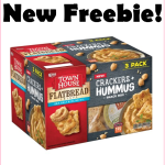 Grab This Town House Crackers + Hummus 3 Pack For FREE, No Coupons Needed!!!