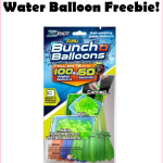 FREE Bunch O Balloons 100 Balloon Pack At Walmart!!!