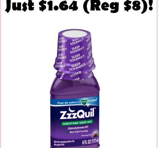 RUN!!! ZZZQuil For Just $1.64, No Coupons Needed!!!