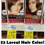 Grab Loreal Hair Color For Just $2 At CVS!!!