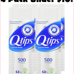 500ct Pack Of QTips For Just $2.27 Delivered!!!