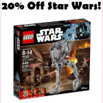 20% Off Lego Star Wars Walker Set!!!