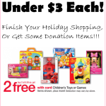 Start (& Finish) Your Kids Holiday Shopping, at Just $2.87 Per Toy!!!