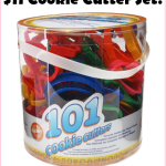 101 Piece Cookie Cutter Set, Just $11!!!