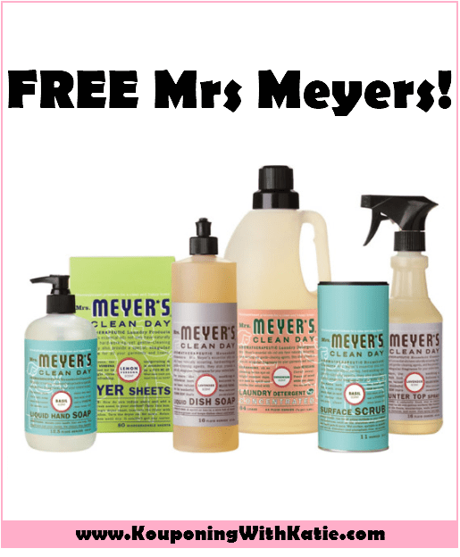 picture about Mrs Meyers Printable Coupon called Finishes At present! Cost-free $10 Mrs Meyers Cleansing Items At